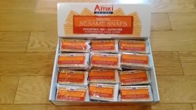 taimamaさん[3]が投稿したAmki ORIGINAL SESAME SNAPS セサミスナップスの写真