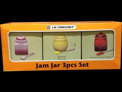 ルクルーゼ (LE CRUSET) ジャムジャー 3pcセット
