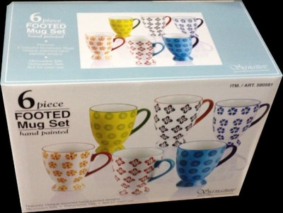 SIGNATURE HOUSEWARES マグ 6PCセット