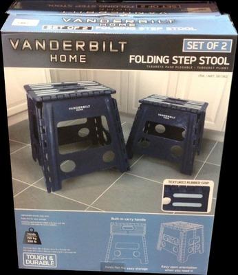 VANDERBILT 折り畳み踏み台 2個セット