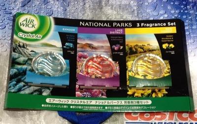 エアーウィック クリスタルエア ナショナルパークス 芳香剤3種セット
