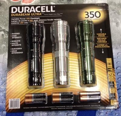 (名無し)さん[7]が投稿したDURACELL デュラセル LED防滴懐中電灯の写真