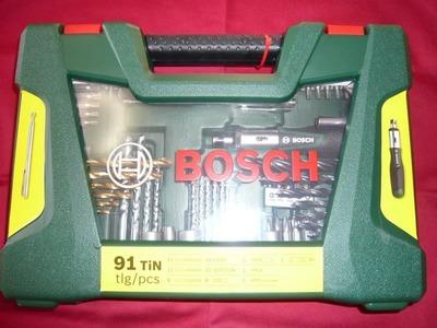 BOSCH ボッシュ ドリルビット/ドライバービット セット 91pc