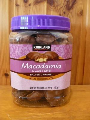 カークランド マカダミアナッツ 塩キャラメル ミルクチョコレート