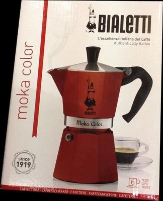BIALETTI ビアレッティ モカ コーヒーメーカー 6カップ用 moca color