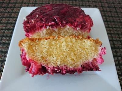 なるみぃさん[4]が投稿したラズベリールバーブケーキの写真