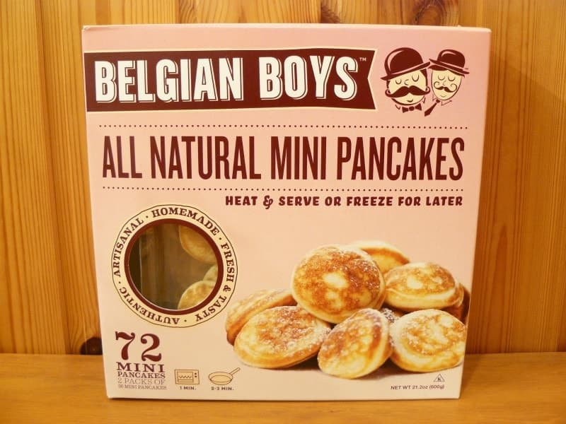 [2]が投稿したBELGIAN BOYS オールナチュラル ミニパンケーキの写真