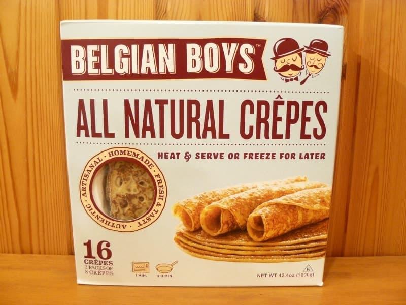 [4]が投稿したBELGIAN BOYS オールナチュラル クレープの写真