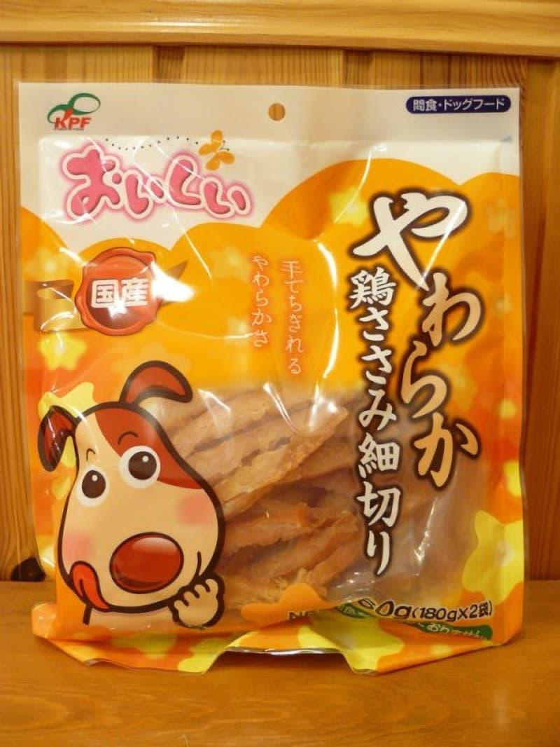 [4]が投稿したKPF やわらか 鶏ささみ細切り 間食・ドッグフードの写真