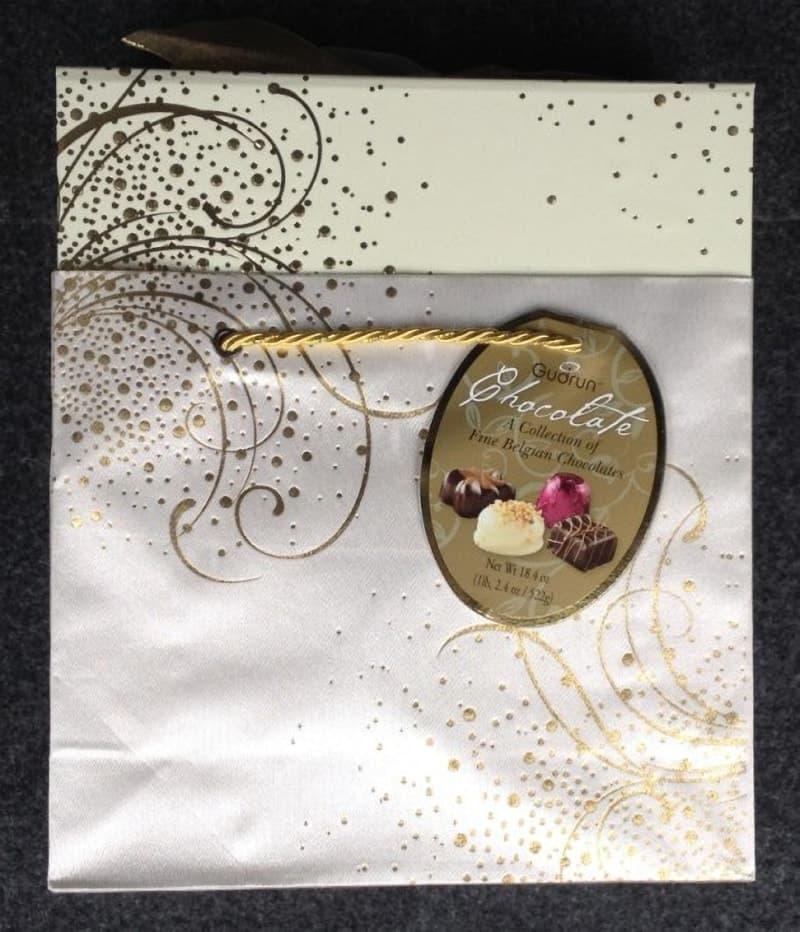 [9]が投稿したGudrun bag & Box (ガドラン ベルギー ムースチョコレート)の写真