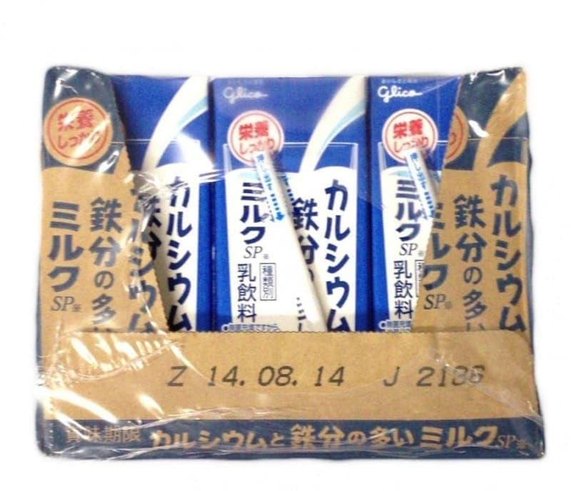 [2]が投稿したグリコ カルシウムと鉄分の多いミルクの写真