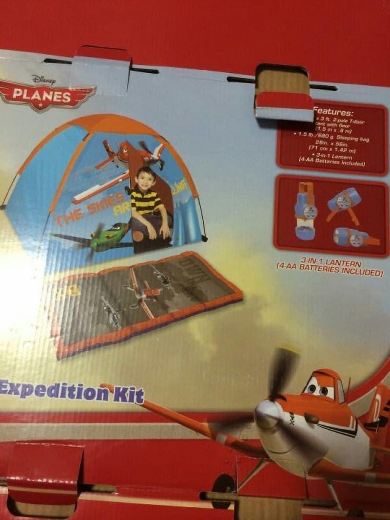みそ。さん[9]が投稿したDISNEY ディズニー キッズエクスプローラーキット(テント)の写真