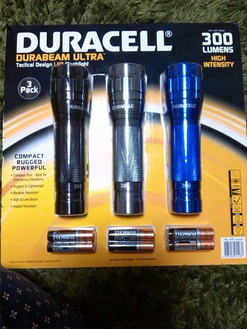 ラムさん[2]が投稿したDURACELL デュラセル LED防滴懐中電灯の写真