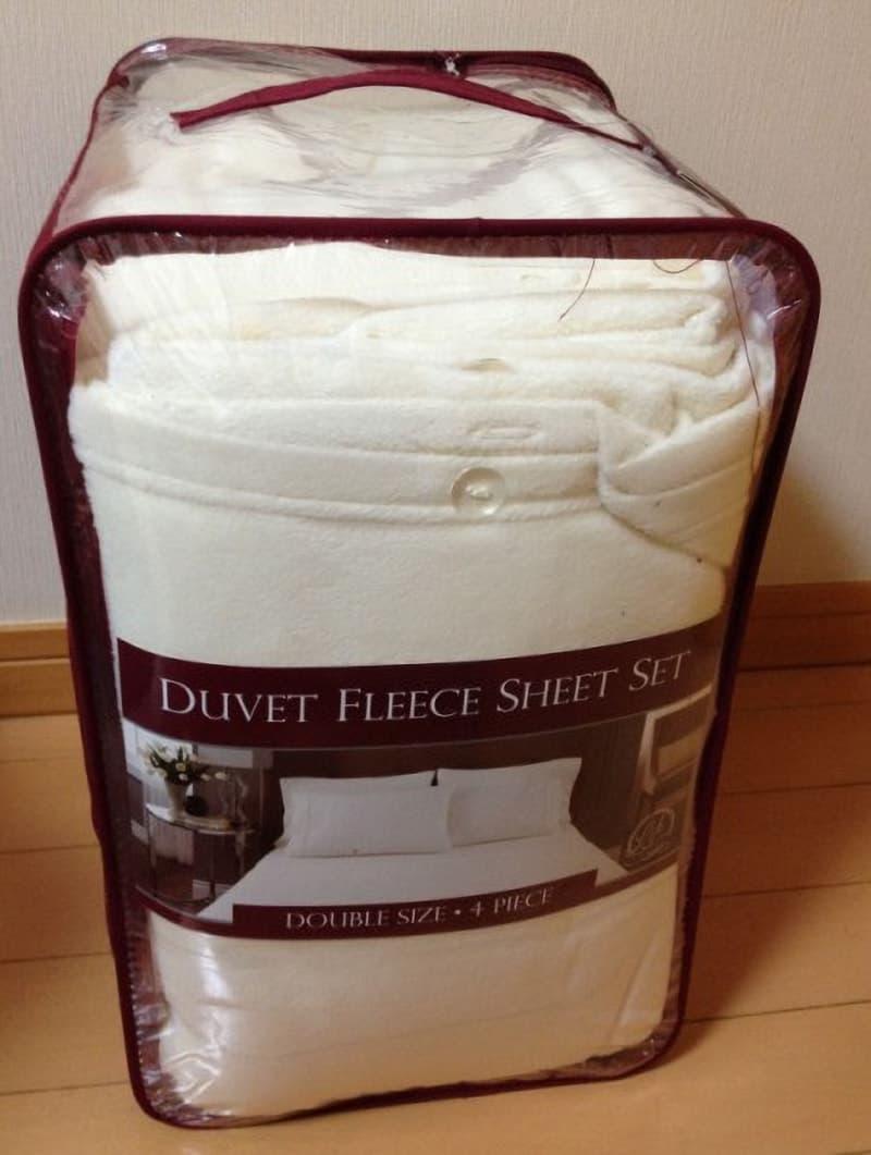 [7]が投稿したNEMCOR 日本ダブルサイズ DUVET FLEECE SHEET SET フリースベッドカバー4点セットの写真