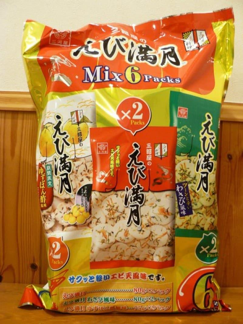 [2]が投稿した三河屋製菓 えび満月 ミックス6パックの写真