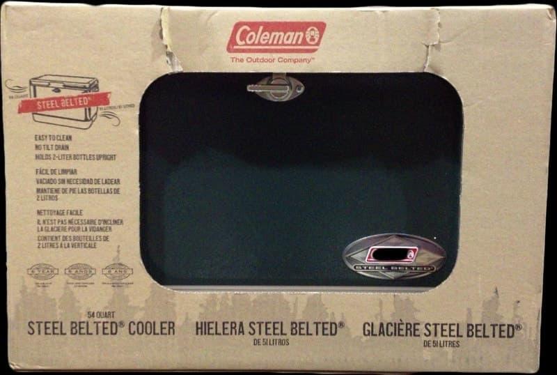 [37]が投稿したCOLEMAN(コールマン) STEEL BELT クーラーボックスの写真