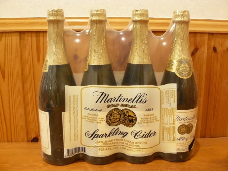 [2]が投稿したMartinelli's マーティネリ スパークリング アップルサイダー 750ml×4本の写真