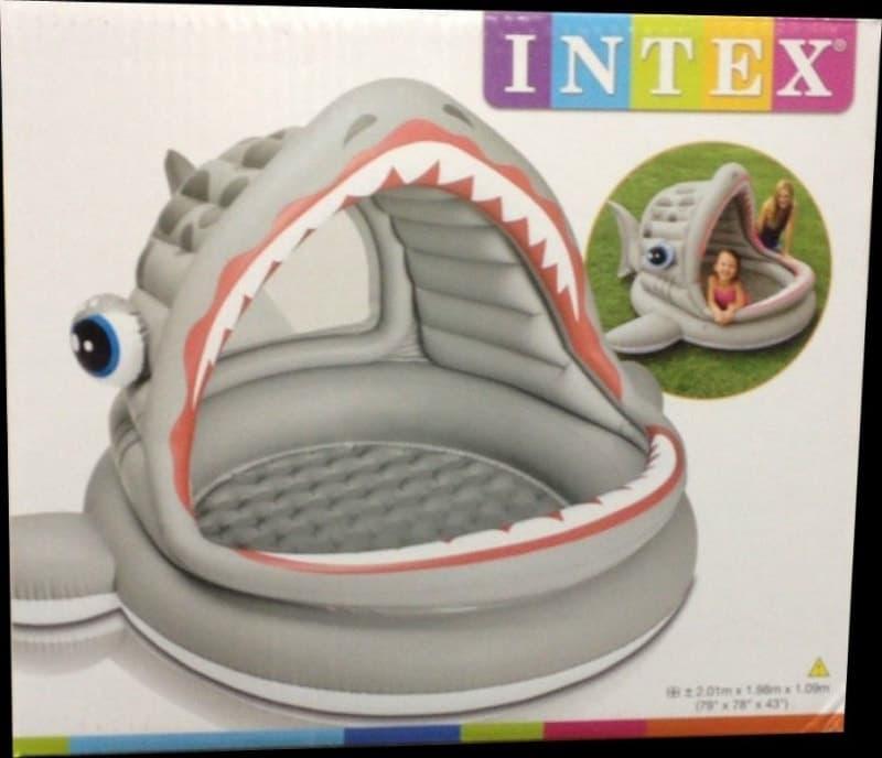 [2]が投稿したINTEX シャークシェードプールの写真