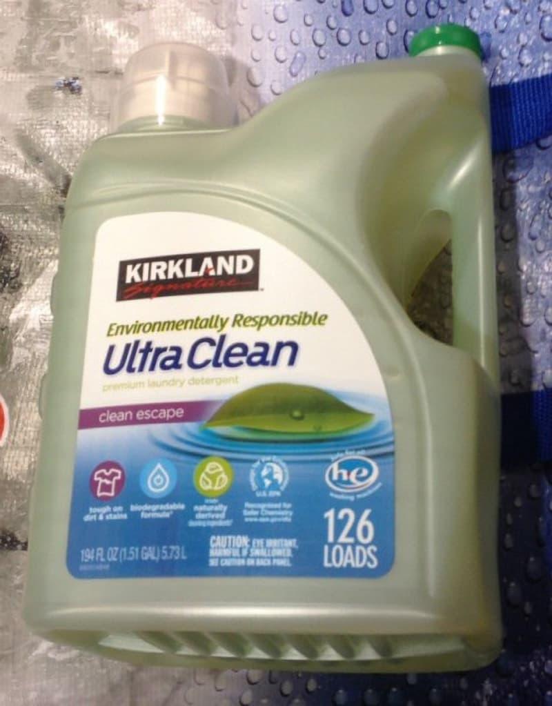 [50]が投稿したカークランド エコフレンドリー 液体洗濯洗剤の写真