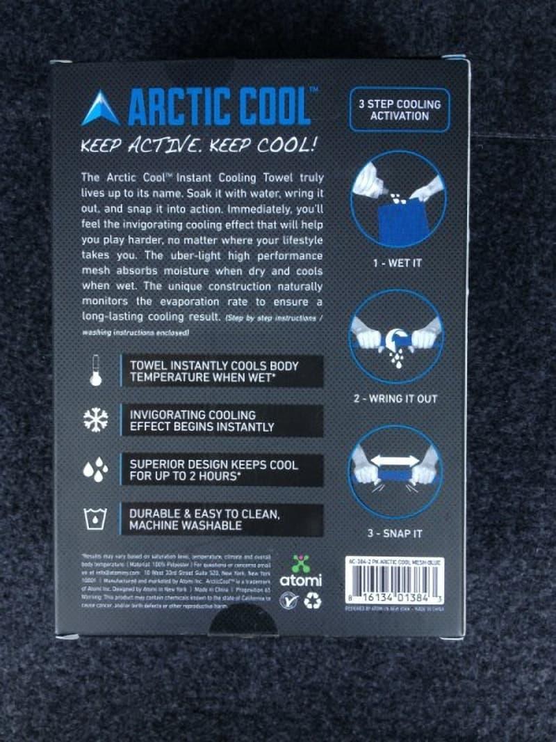 [3]が投稿したARCTIC COOL クーリングタオルの写真