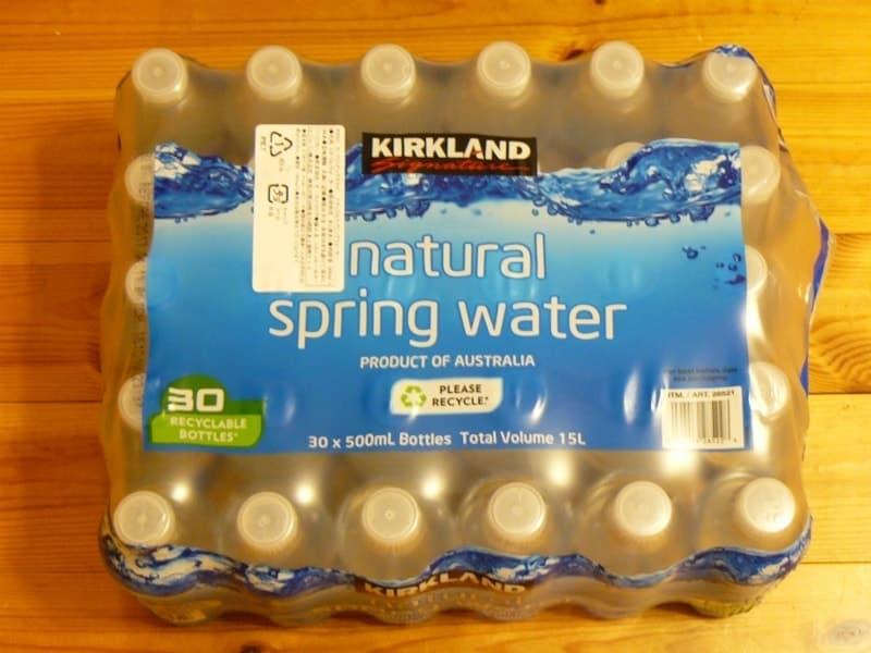 [4]が投稿したカークランド  ナチュラルスプリングウォーター natural spring water 500MLの写真