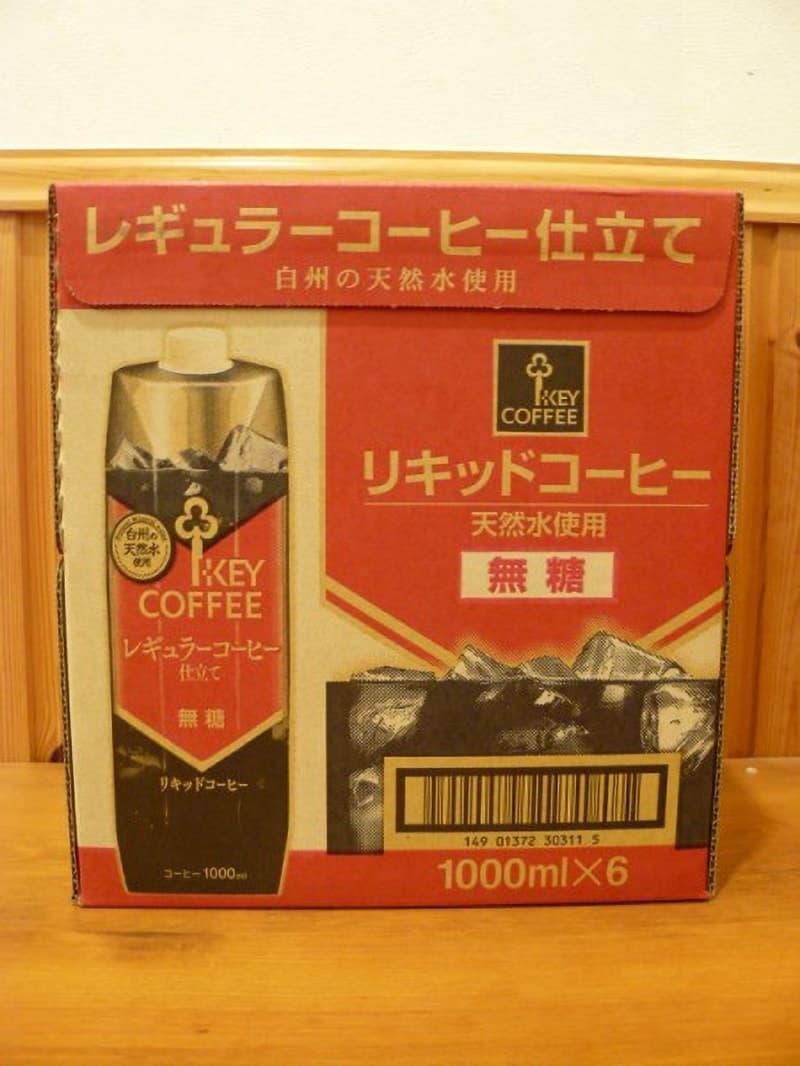 [6]が投稿したキーコーヒー リキッドコーヒー無糖の写真