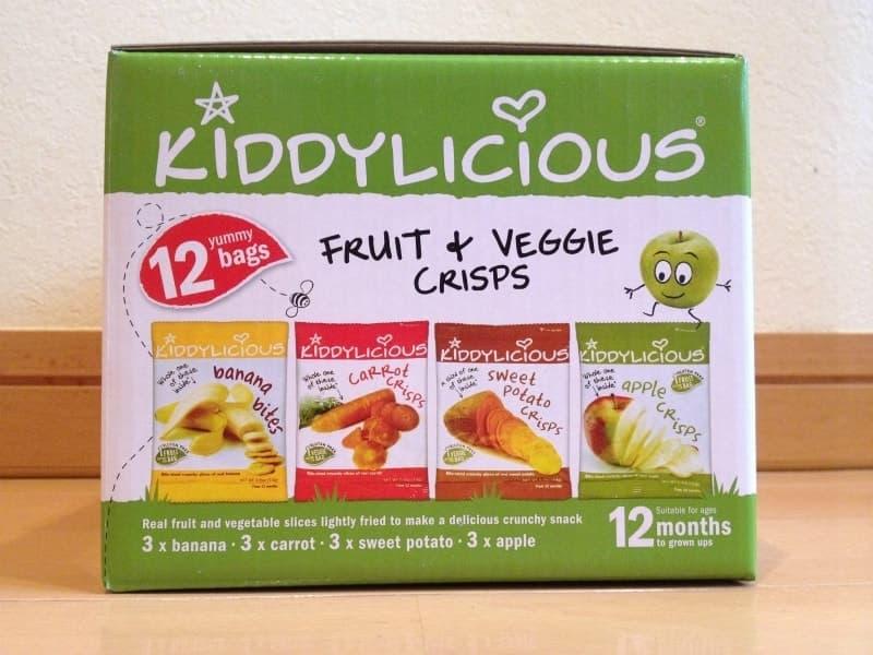 [2]が投稿したKIDDYLICIOUS フルーツ&ベジタブル チップスの写真