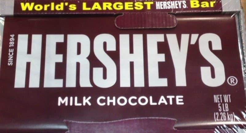 [2]が投稿したハーシーズ ミルクチョコレート ジャイアントバーの写真