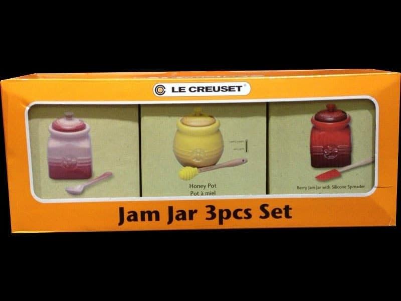[45]が投稿したルクルーゼ (LE CRUSET) ジャムジャー 3pcセットの写真