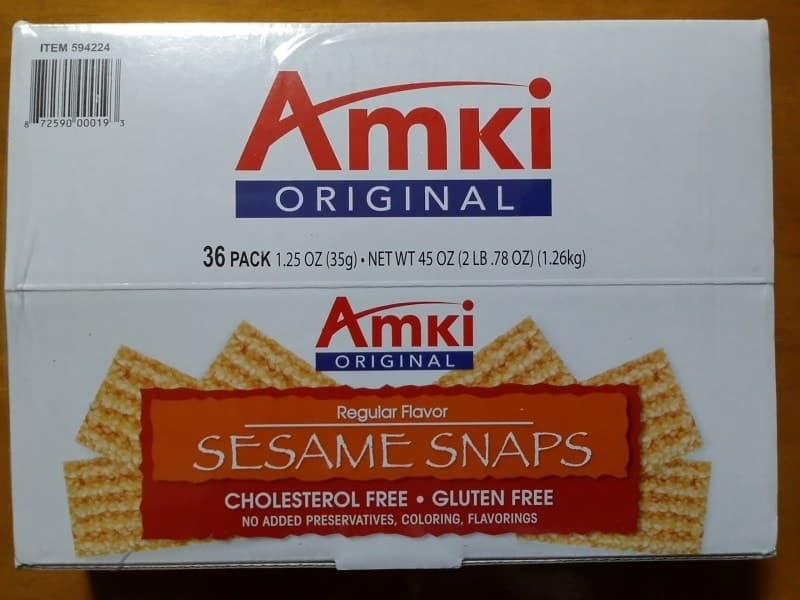 なおさん[8]が投稿したAmki ORIGINAL SESAME SNAPS セサミスナップスの写真