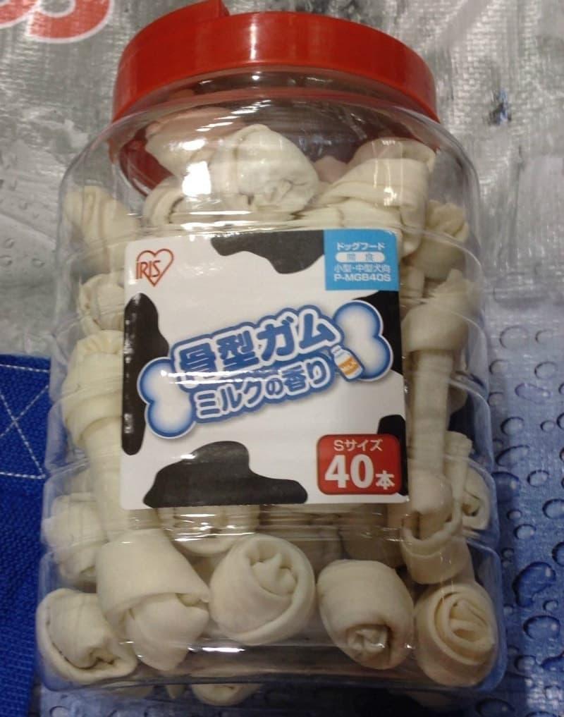 [2]が投稿したアイリスオーヤマ 骨型ガム ミルク味の写真