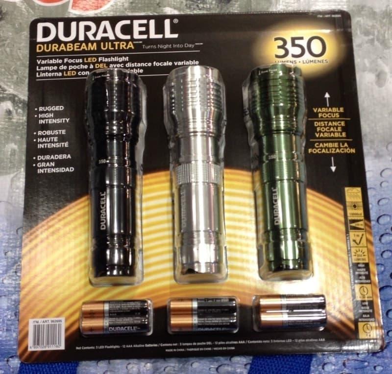 [7]が投稿したDURACELL デュラセル LED防滴懐中電灯の写真