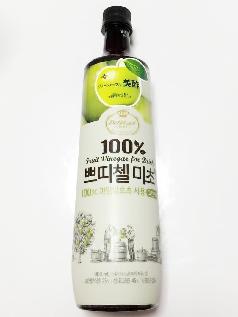 ゆぇさん[2]が投稿したCJ プチジェル美酢(ミチョ) グリーンアップル味の写真