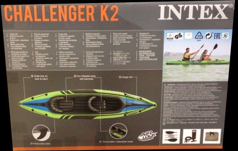 [2]が投稿したINTEX チャレンジャー K2 カヤックの写真