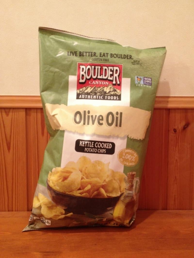 [23]が投稿したBoulder Canyon Olive Oil Kettle Chips オリーブオイル ケトルチップスの写真