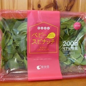 熊本県産 ベビー スピナッチ