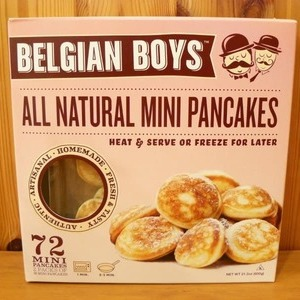 BELGIAN BOYS オールナチュラル ミニパンケーキ