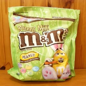 M&M'S ピーナッツイースターバニーBEE