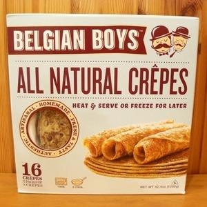 BELGIAN BOYS オールナチュラル クレープ