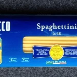 DE CECCO Spaghettini ディ・チェコ No.11 スパゲッティーニ (1.6mm)