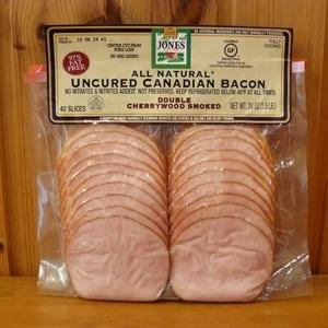 Jones Uncured Canadian Bacon ジョーンズ カナディアン ベーコン