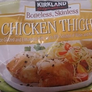 カークランド 冷凍鶏もも肉