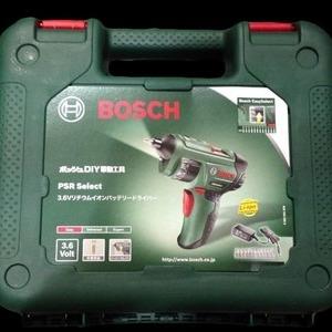 BOSCH ボッシュ PSR SELECT リチウムイオンバッテリードライバー