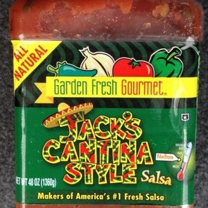 Garden Fresh Gourmet Jack's Cantina Style Salsa ミディアム サルサ