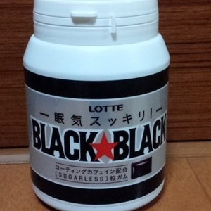 ロッテ ブラックブラック 粒メガボトル