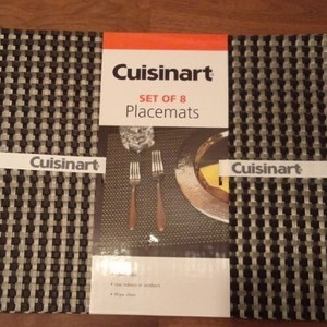 Cuisinart ランチョンマット(set of 8  Placemats)