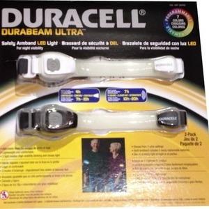 DURACELL デュラセル 7色LED セーフバンド 2本