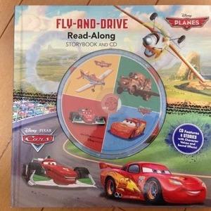 ディズニー Read-Along storybook & CD