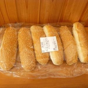 札幌キムラヤ ドッグパン 6本入り スライス