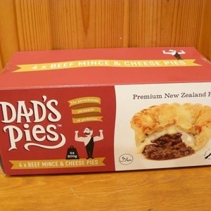 Dad's Pies ビーフミンチ&チーズパイ 4個入り